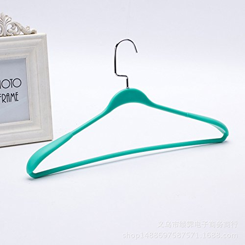 yijia 10pcs,High-grade thickening seamless plastic hangers h