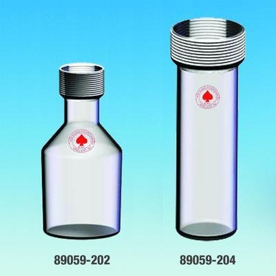 ACE GLASS 7501-11 Air Sampling Collection Bottle, 25 mm Diameter, 250 mL Capacity by ACE Glass