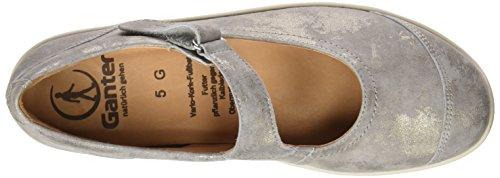 Ganter Women's Gill, Weite G Ballet Flats Beige (Smoke 6900)