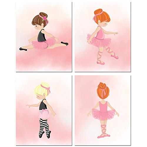 Little Ballerina Girl (8x10 Set of Four)