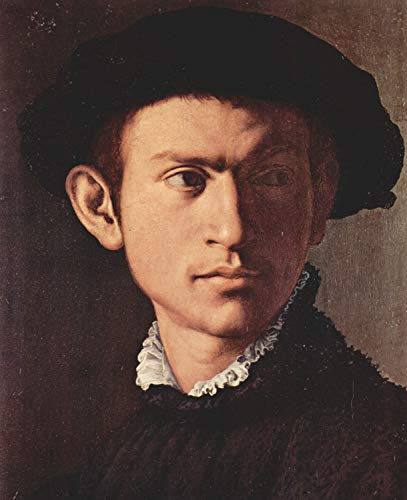 (Home Comforts Peel-n-Stick Poster of Bronzino, Angelo - Portrait of a Young Man with lute, Detail [2] Vivid Imagery Poster 24 x 16 Adhesive Sticker Poster Print)