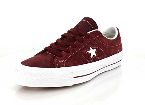Converse Unisex One Star Pro Low Top Deep Bordeoux Sneaker - 9 Men - 11 Women