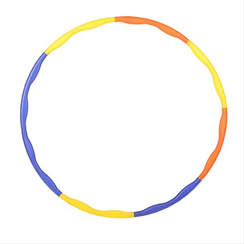 EITC 27cm Removable Hula Hoop Outdoor Aerobic Exercise Plastic Fitness Equipment for Kids