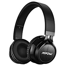 Mpow Thor Foldable Over-head Wireless Bluetooth Stereo Headphones Headset PC with Mic and Detachable Cord(Upgraded Version)