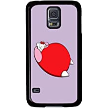 Funny Design Fat Hellokitty Printed Picture Back Case For Samsung Galaxy S5 -09