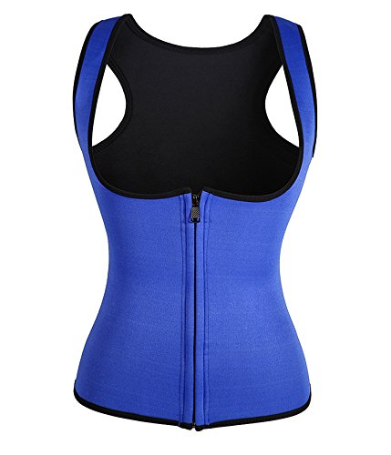 4-color-neoprene-sweat-sauna-hot-body-shaper-fat-burner-tank-top-yoga-vest-xxxx-large-blue
