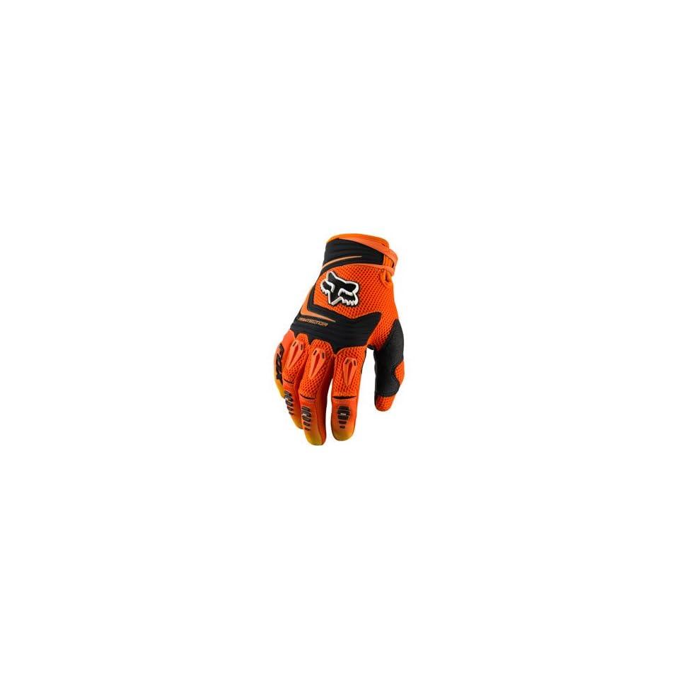 Fox Racing Pawtector Gloves Orange Automotive