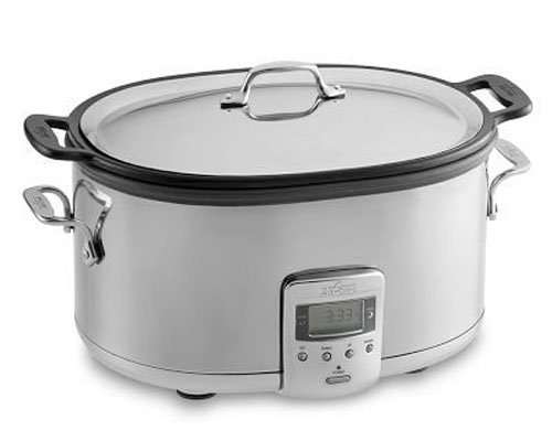 All-Clad Deluxe 7-QT. Slow Cooker Cast Aluminum Insert