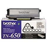 Brother TN650 Genuine OEM High-Yield Toner, Black, 1-Cartridge