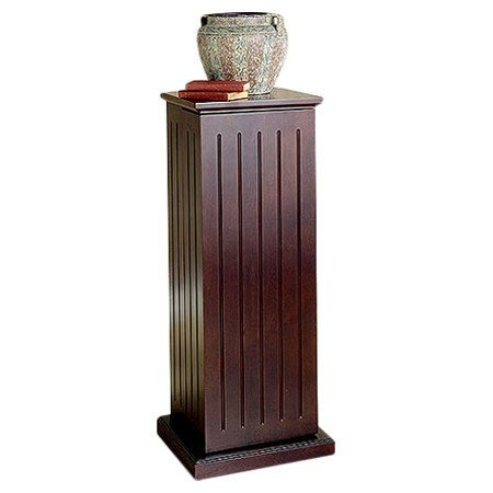 Williamfield Multimedia Cabinet with Magnet Closure Made w/ Wood in Cherry Finish 38.5'' H x 13.5'' D