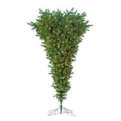 7.5 ft. Upside Down Christmas Tree with Metal Base
