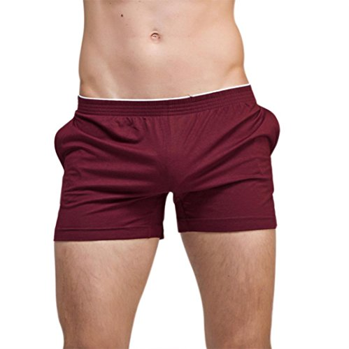 Courte Jogging Casual Sport Coton Rouge Short Boxer Trousers Course Overdose Homme Sexy Jersey OqIRZZ