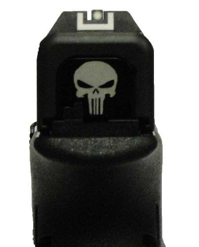 Punisher Black Slide Cover Plate for Glock, Outdoor Stuffs