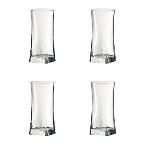 Amici Gotico Collection Hiball Glasses, 14 oz - Set of 4