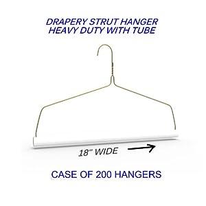 """Drapery Strut Wire Hanger 18"""""""
