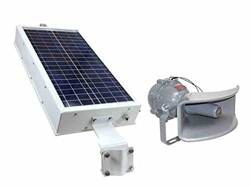 Solar Powered Explosion Proof Horn - 8 Tones - NEMA 4X - 110