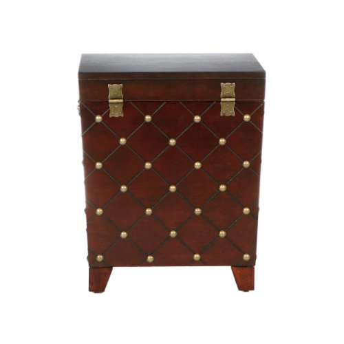 037732062259 - Caldwell Trunk End Table Espresso carousel main 6