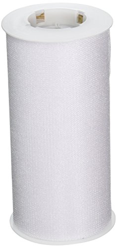 Expo Shiny Tulle Spool of 25-Yard, White