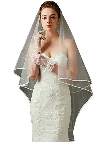 LynnBridal Plain Tulle Ribbon Wedding product image