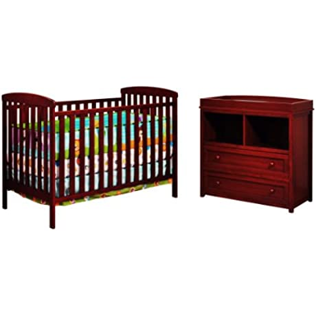 Athena Leila 2 Piece Nursery Set Cherry
