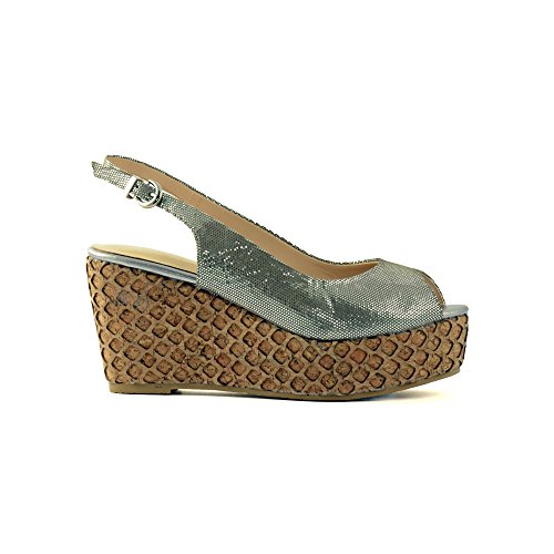 XTI Woman Pumps XTI25839 SP13 - Zapatos Mujer, color Negro (taupe X4), talla 40