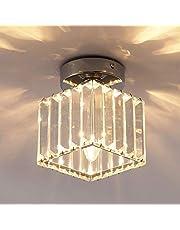 مصباح سقف غانيد، 1 مصابيح إضاءة متدلية من الكريستال الإضاءة، بالقرب من مصباح السقف للممر، المدخل، البار، ,كروم