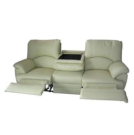 Divano 3 Posti 2 Relax.Rr Design Divano 3 Posti Relax Con 2 Recliner Motorizzati