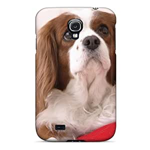 High-end Case Cover Protector For Galaxy S4(white Cocker Spaniel)