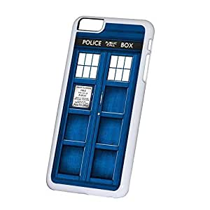 Case Cover For SamSung Galaxy S5 Tardis Doctor Who, White Hard Plastic Cover for Case Cover For SamSung Galaxy S5 Wont fit iPhone 6