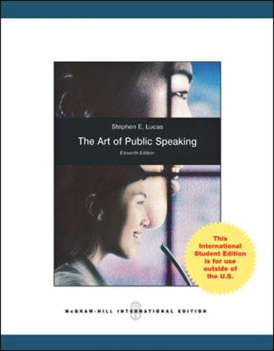 Art of Public Speaking, International Edition