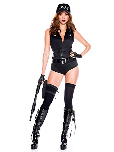 Music Legs Sexy Swat Hottie Costume (XS)]()