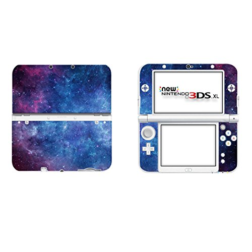 SKINOWN Vinyl Cover Decals Skin Sticker for Nintendo New 3DS XL - Nebula