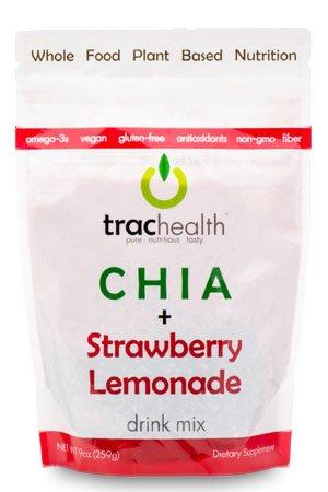 Chia + Fresa Limonada Bebida Mix Bulk Bolsa con 15 porciones ...