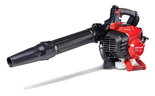 Craftsman Blower Vacuums - Craftsman CMXGAAMR27AV 27cc 2-Cycle Full Crank Engine Gas Powered Vac Leaf Blower