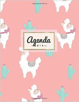 Agenda 2019: Semanal Diario Organizador Calendario | Alpaca ...