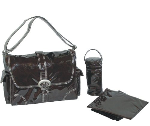 Kalencom Quilted Tote, Chocolate, Bags Central