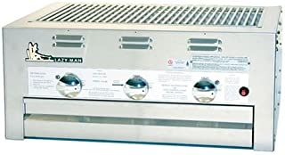 product image for Lazy Man Barbecue- Built in Grill- Natural Gas Model