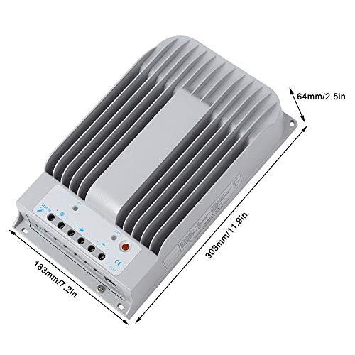 Solarladeregler, 12V/24V Solarladeregler MPPT 40A mit MT50 und PC-Kabel