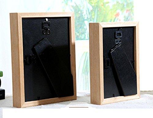 GYN Nórdico estilo troncos madera creativa portaretrato decoración de la mesa (6 pulgadas, 7 pulgadas) , 6 inch: Amazon.es: Hogar