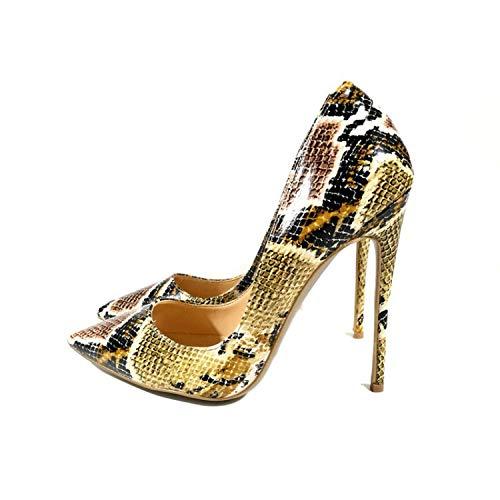 KPHY Damenschuhe Darauf High Heels Sexy Schlangen Damenschuhe Damenschuhe Damenschuhe Einzelne Schuhe Dünnen Absätzen. 0aded4