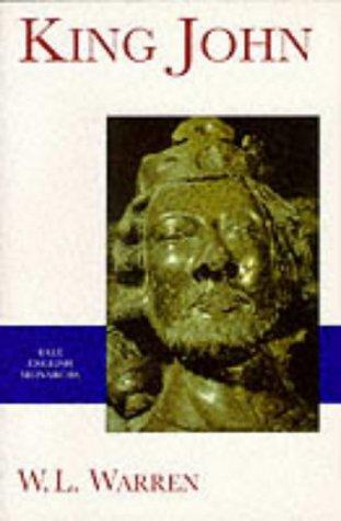 King John (Yale English Monarchs Series)
