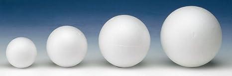 Wei/ß 6 x 4 x 4 cm GLOREX Styropor-Ei