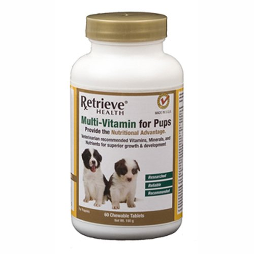 Retrieve Health Multi-Vitamin for Pups, 60 Count