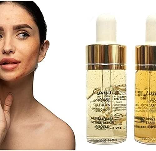 Face Skin Wrinkle Care Ampoules Luxury Gold Collagen & Caviar (Collagen)