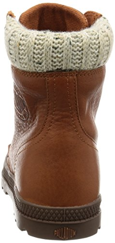 Palladium Mujer Negro Pampa Hi Knit LP Botas Mocha Bisque/Chest