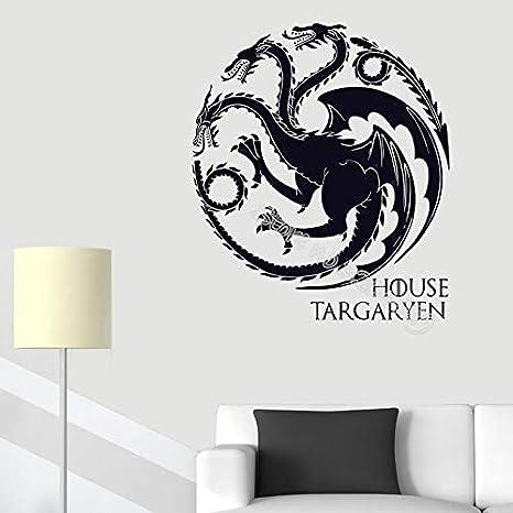 House Targaryen Etiqueta De La Pared Decoración Para El
