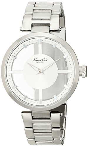 Kenneth Cole New York Women's Japanese Quartz Stainless Steel Case Stainless Steel Bracelet Silver,(Model:KC4727)