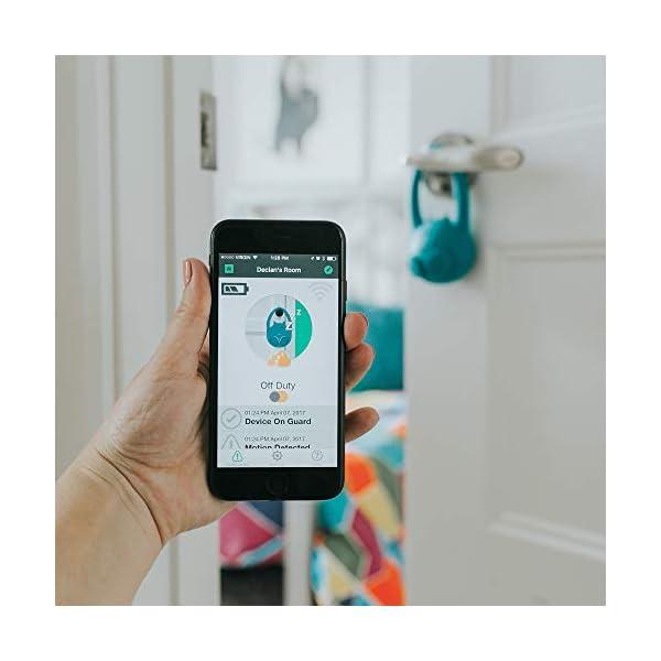 Toddlermonitor | Toddler Door Alarm, Child Door Motion Sensor, Window or Door Safety for Kids | Smart Toddler Door… 4