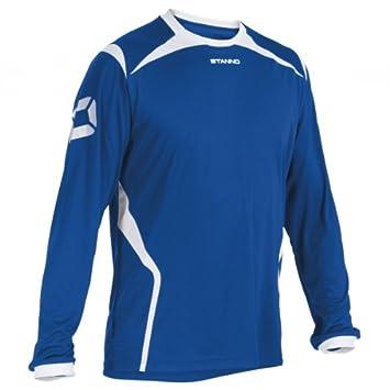 Stanno Torino – Camiseta de fútbol (manga larga), color azul, tamaño xx