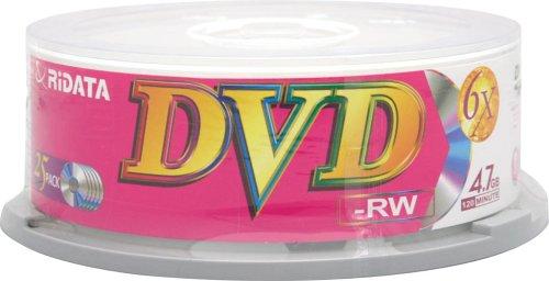Ritek Ridata DVD-RW 4.7GB, 6X, 25-pack (Discontinued by Manufacturer)